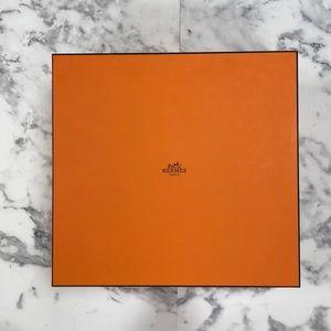 Authentic Hermes XL Birkin 35 Storage Gift Box